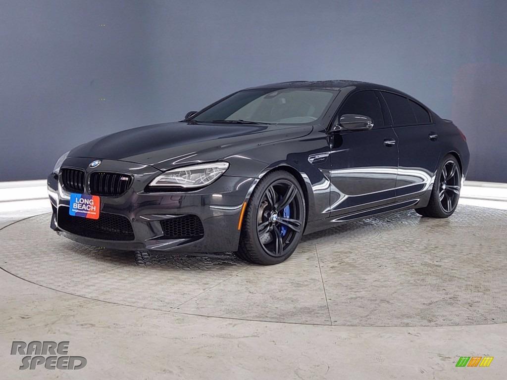 2018 M6 Gran Coupe - Black Sapphire Metallic / Black photo #3