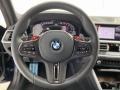 BMW M3 Competition Sedan Tanzanite Blue II Metallic photo #14
