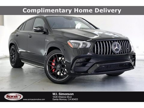 Obsidian Black Metallic 2021 Mercedes-Benz GLE 63 S AMG 4Matic Coupe