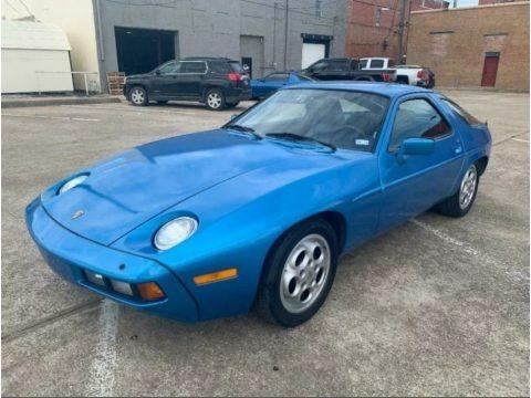 Minerva Blue 1980 Porsche 928