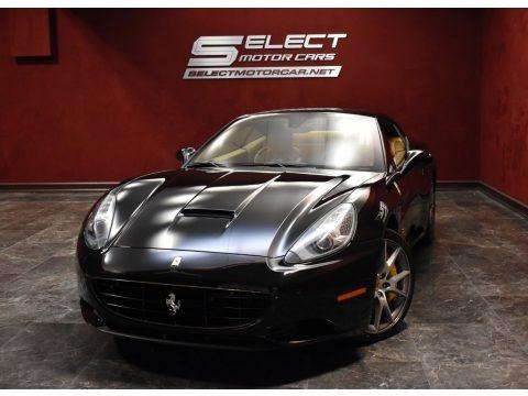 Nero (Black) 2010 Ferrari California