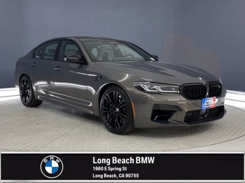 Alvite Gray Metallic 2021 BMW M5 Sedan