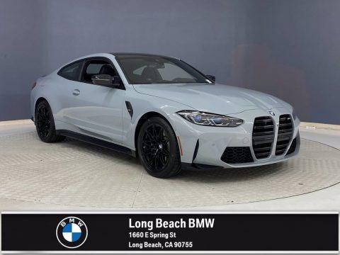 Brooklyn Gray Metallic 2021 BMW M4 Coupe