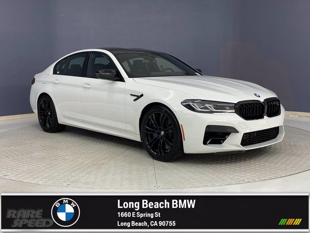 2021 M5 Sedan - Alpine White / Black photo #1