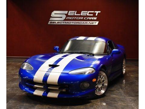 GTS Blue Pearl 1996 Dodge Viper GTS