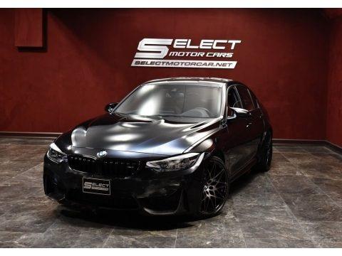 Black Sapphire Metallic 2018 BMW M3 Sedan