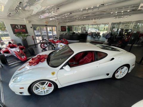 White 2003 Ferrari 360 Modena F1