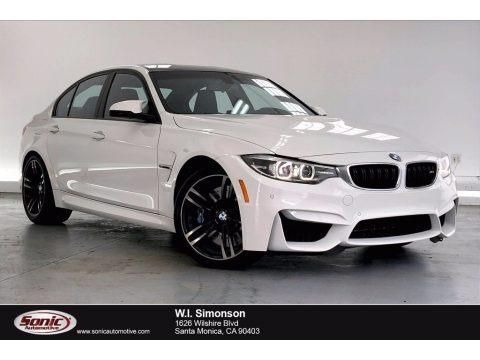 Alpine White 2018 BMW M3 Sedan