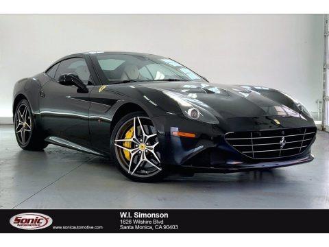 Nero (Black) 2017 Ferrari California T
