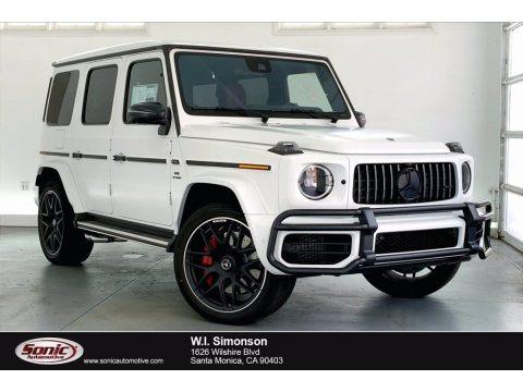 G manufaktur Moonlight White Magno (Matte) 2021 Mercedes-Benz G 63 AMG