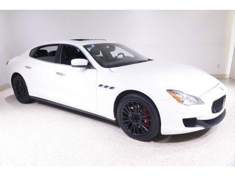Bianco (White) 2014 Maserati Quattroporte S Q4 AWD