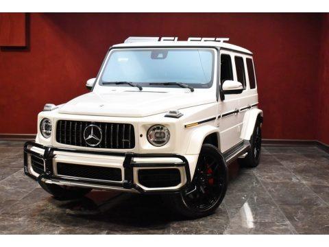 designo Diamond White Metallic 2019 Mercedes-Benz G 63 AMG