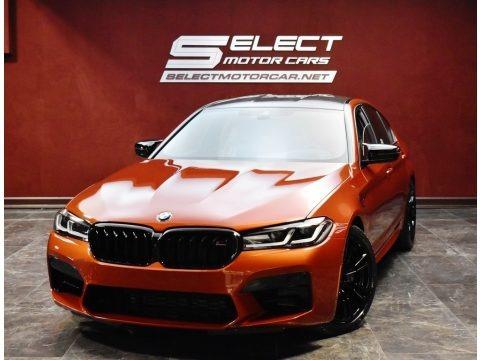 Motegi Red Metallic 2021 BMW M5 Sedan