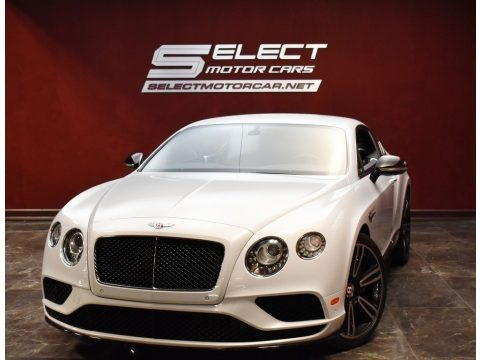 Ice Pearl White 2017 Bentley Continental GT V8 S