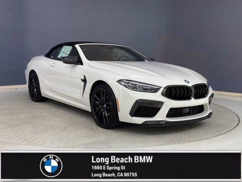 Alpine White 2022 BMW M8 Competition Convertible