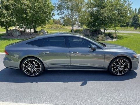 Daytona Gray Pearl 2020 Audi S7 Prestige quattro