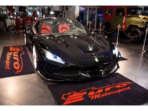 Nero (Black) 2021 Ferrari F8 Tributo