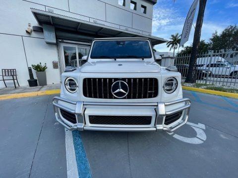 Polar White 2019 Mercedes-Benz G 63 AMG