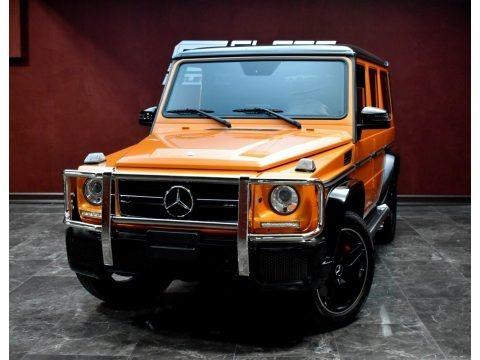 Sunset Beam Orange 2017 Mercedes-Benz G 63 AMG