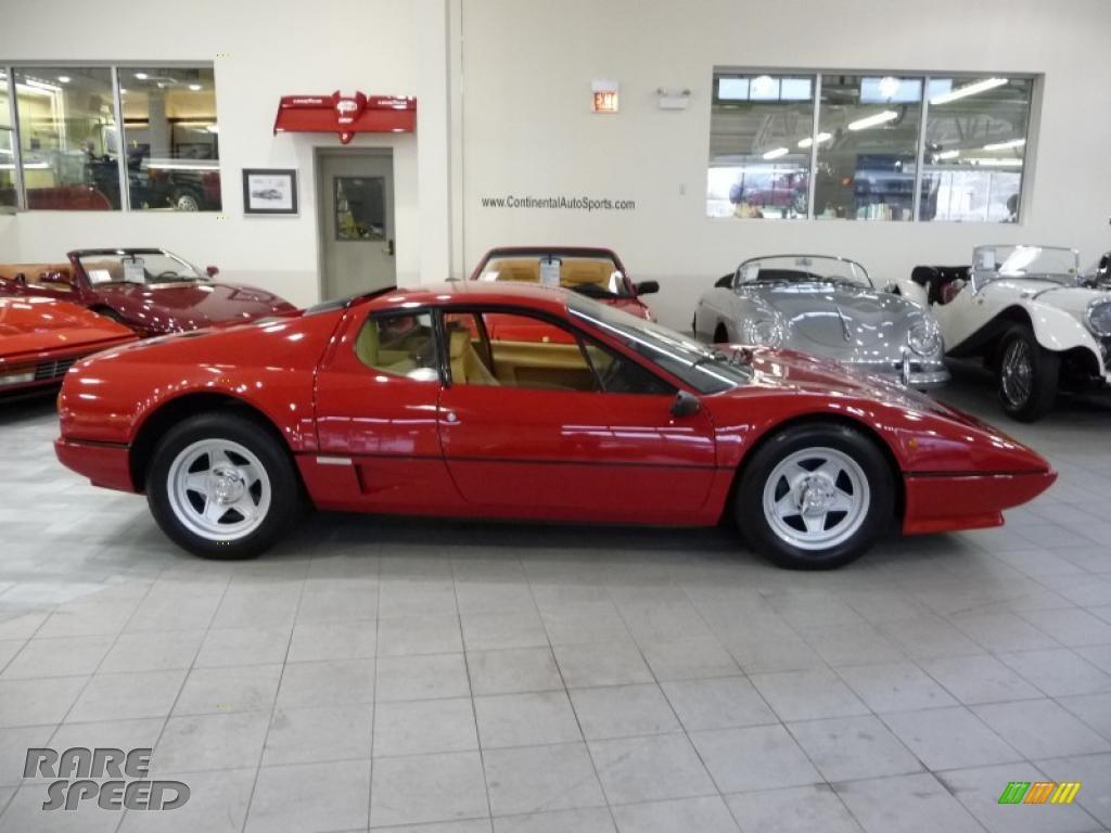 1983 Ferrari Bb 512i In Red 046549