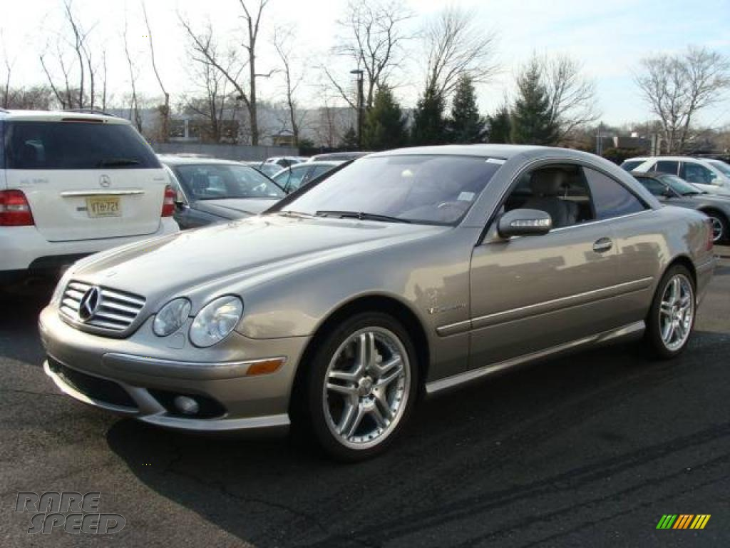 2006 Mercedes Benz Cl 55 Amg In Pewter Metallic Photo 4