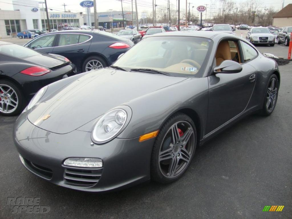 2010 porsche 911 carrera 4s coupe in meteor grey metallic 720491. Black Bedroom Furniture Sets. Home Design Ideas