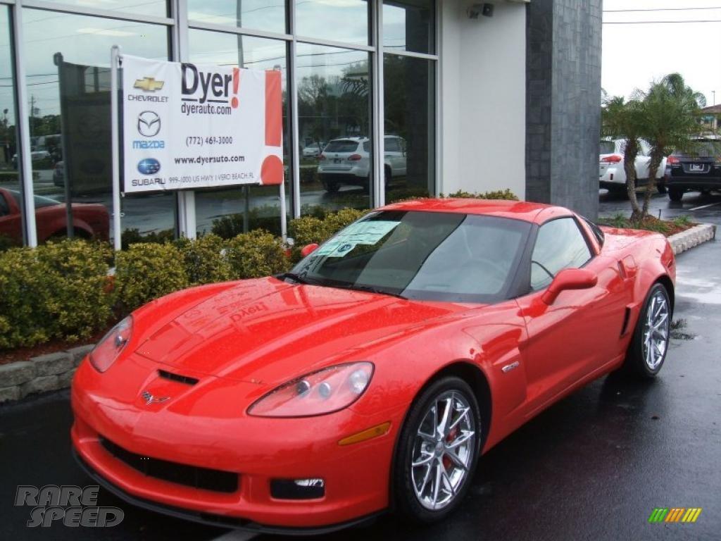 2010 chevrolet corvette z06 in torch red 104894. Black Bedroom Furniture Sets. Home Design Ideas