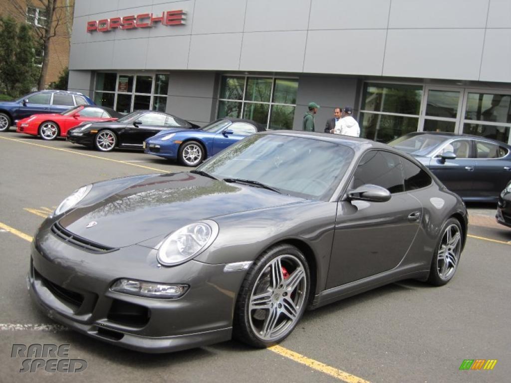 2007 Porsche 911 Carrera 4s Coupe In Slate Grey Metallic