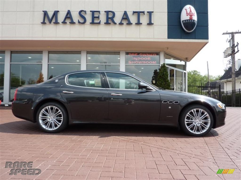 2010 Maserati Quattroporte S In Grigio Granito Dark Grey