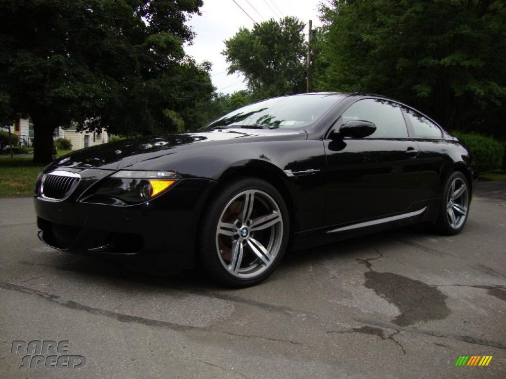 2007 Bmw M6 Coupe In Black Sapphire Metallic 798598