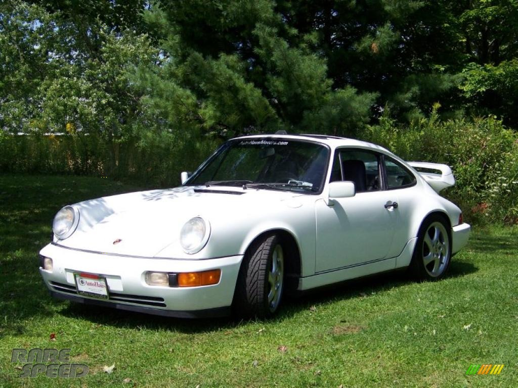 1990 porsche 911 carrera 4 coupe in gran prix white photo 3 451181. Black Bedroom Furniture Sets. Home Design Ideas