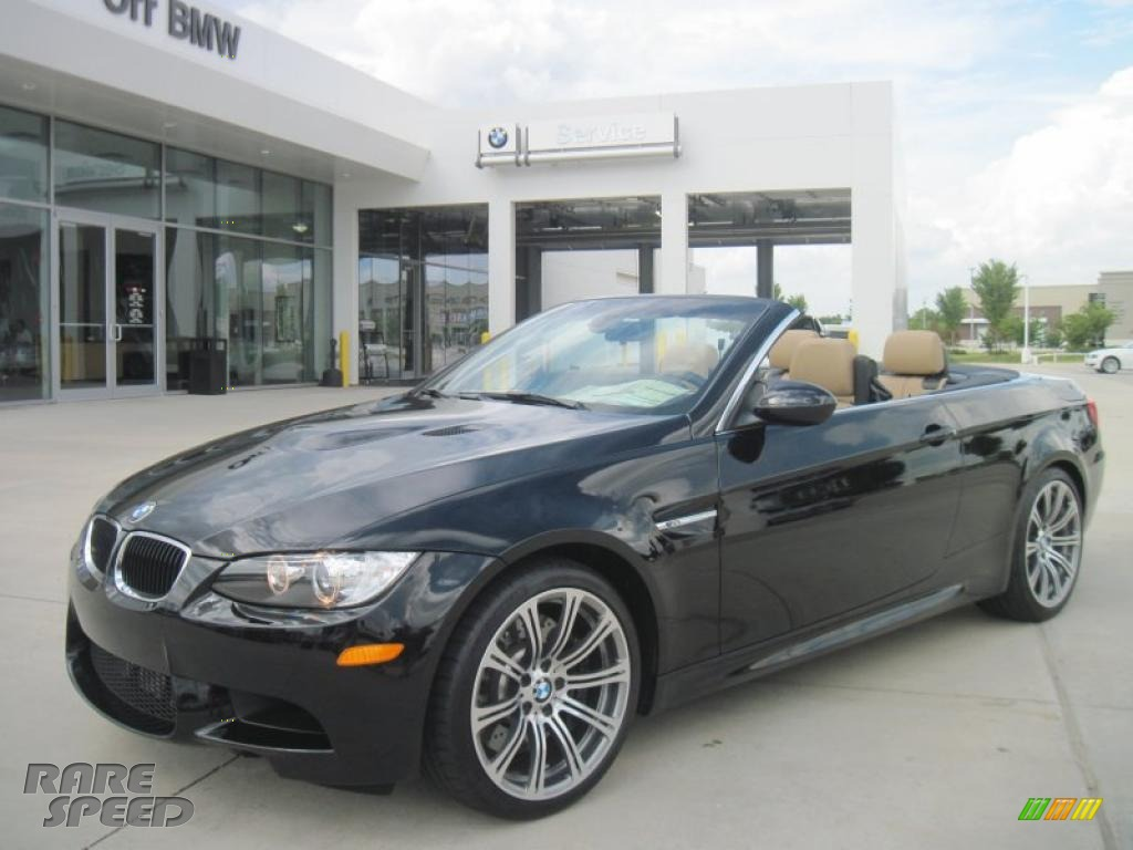 2011 bmw m3 convertible in jet black 584013. Black Bedroom Furniture Sets. Home Design Ideas