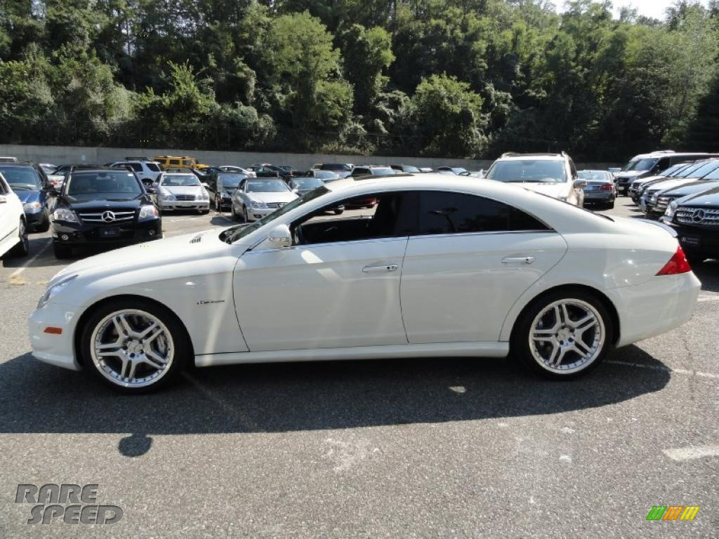 2008 mercedes benz cls 63 amg in arctic white photo 3 116060. Black Bedroom Furniture Sets. Home Design Ideas