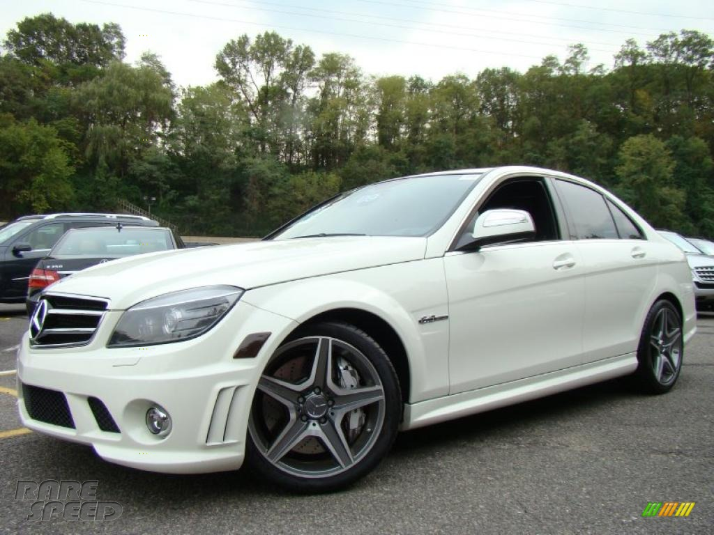 2009 mercedes benz c 63 amg in arctic white photo 8 for Simonson mercedes benz