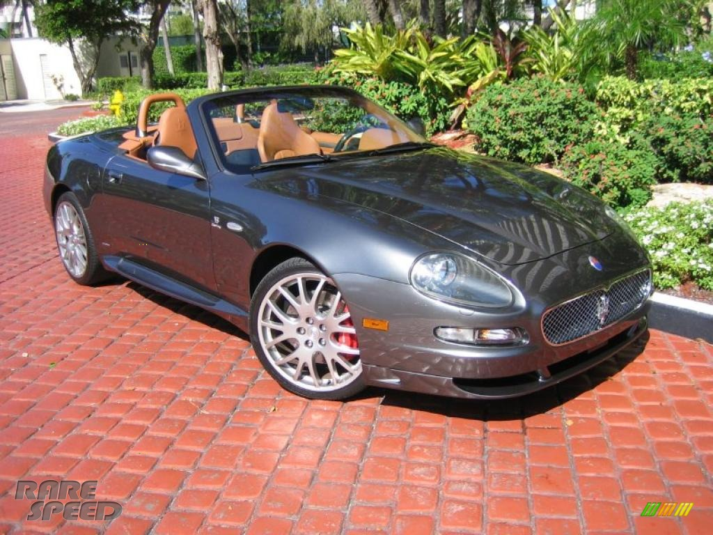 ... Palladio (Metallic Gray) / Cuoio (Saddle) Maserati GranSport Spyder