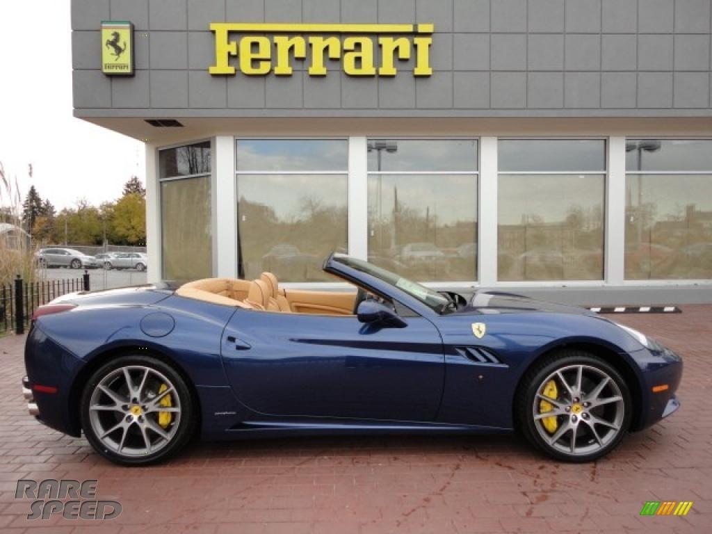 2011 Ferrari California In Tour De France Blue Photo 13