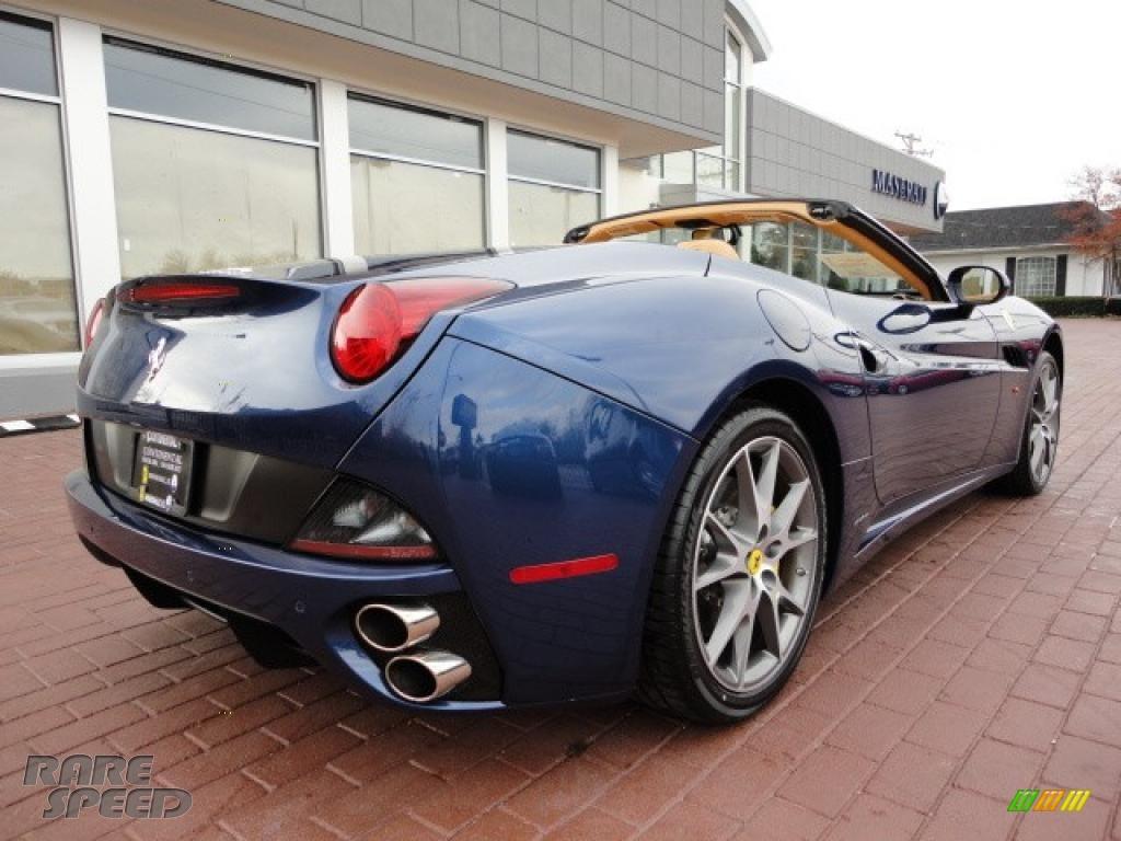 2011 Ferrari California In Tour De France Blue Photo 14