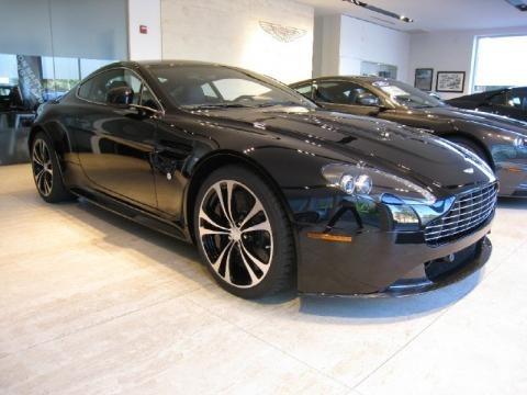 Aston Martin V12 Vanquish Black. 2011 Aston Martin V12 Vantage