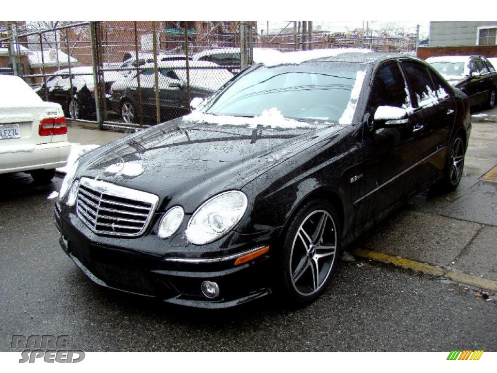 2007 mercedes benz e 63 amg sedan in obsidian black for Simonson mercedes benz