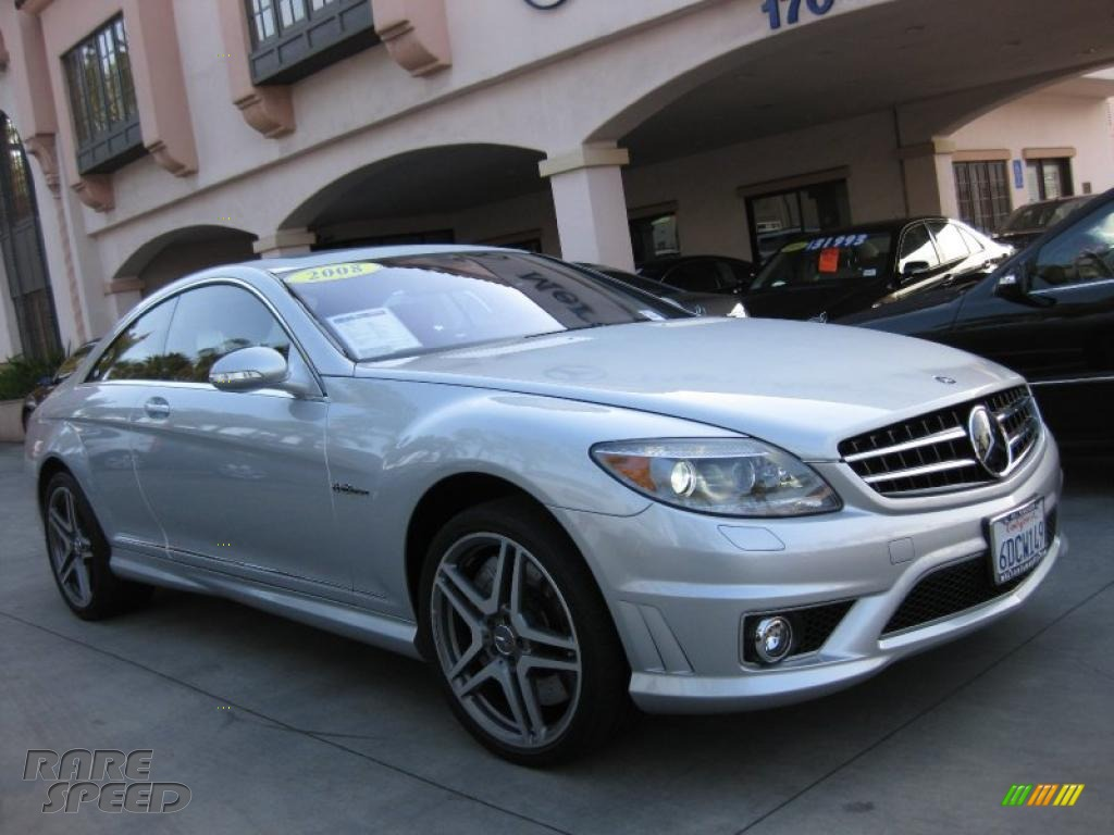 2008 mercedes benz cl 63 amg in iridium silver metallic for Simonson mercedes benz
