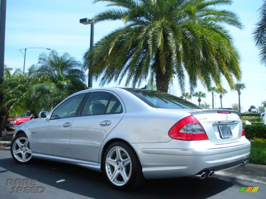 2008 mercedes benz e 63 amg sedan in iridium silver for Simonson mercedes benz