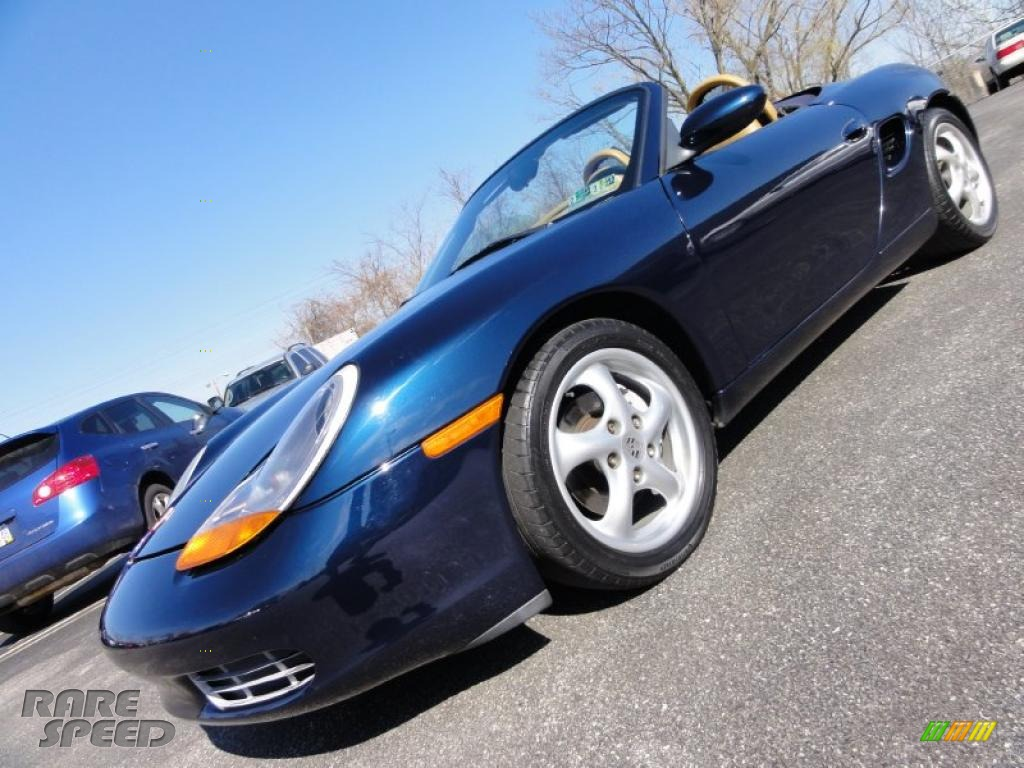 1999 Porsche Boxster In Ocean Blue Metallic 622614