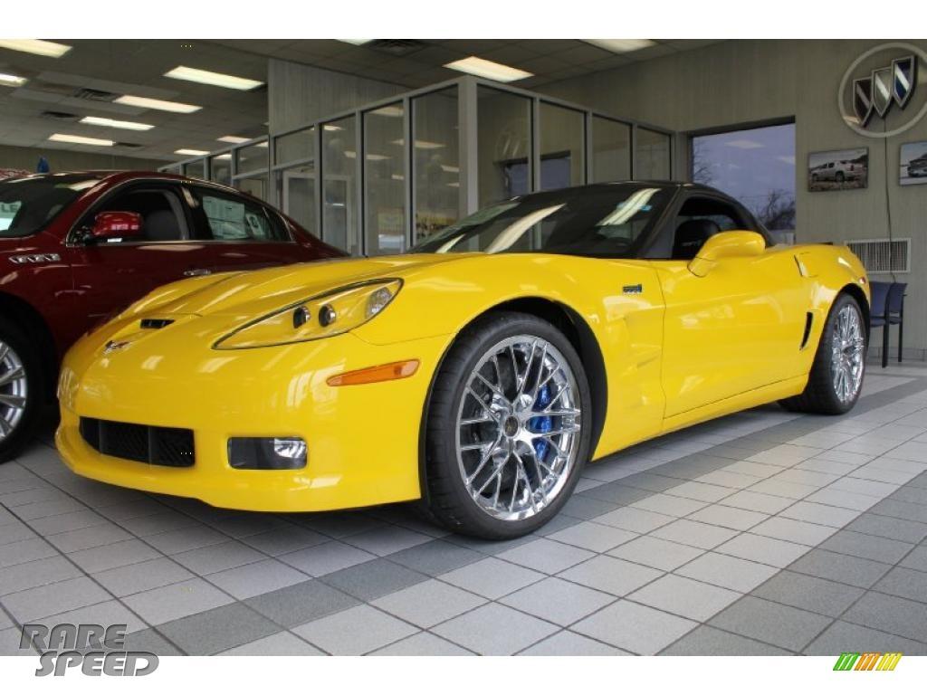 2011 Chevrolet Corvette Zr1 In Velocity Yellow 800291