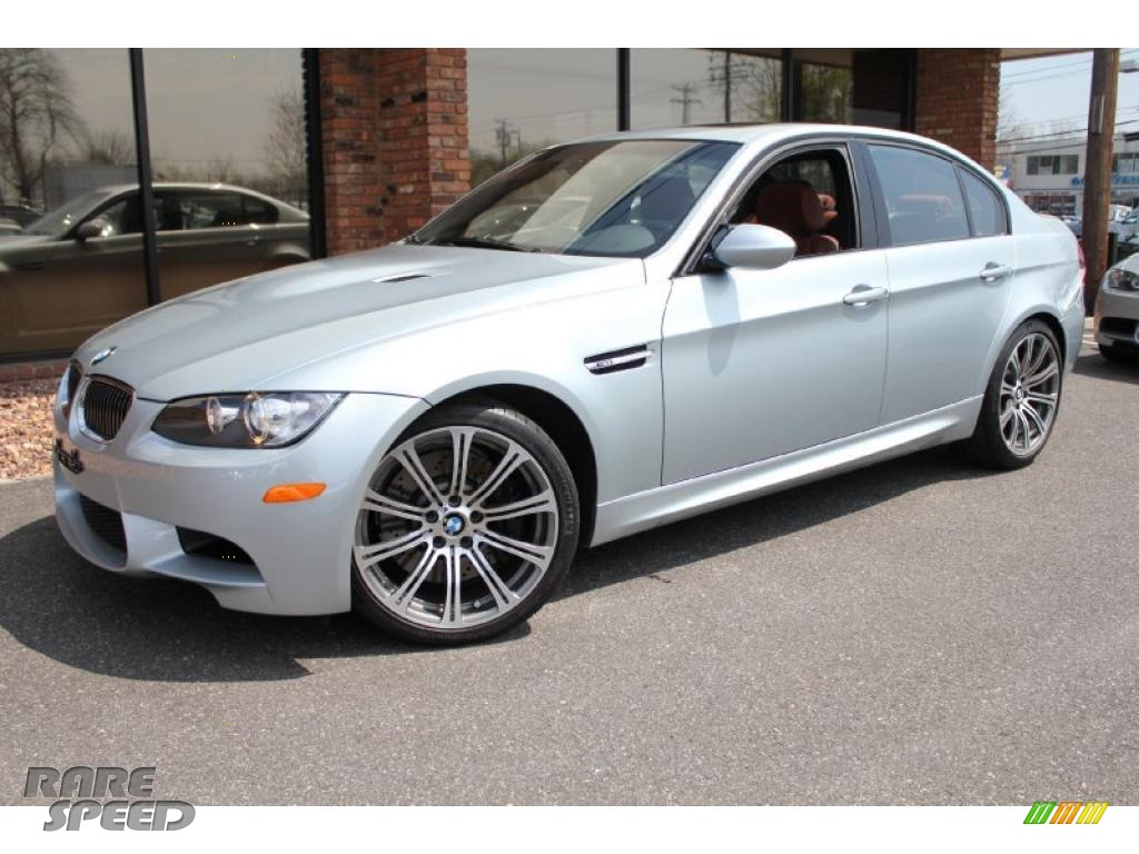 2008 bmw m3 sedan in silverstone metallic 041209. Black Bedroom Furniture Sets. Home Design Ideas