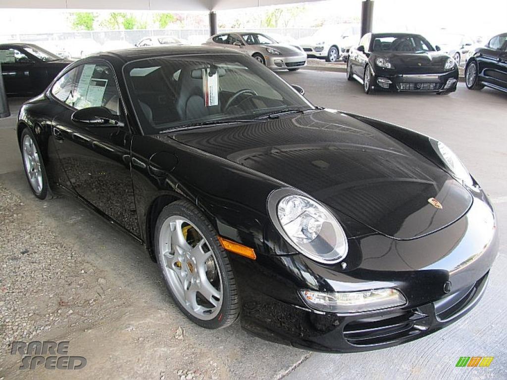 2005 porsche 911 carrera s coupe in black 740215. Black Bedroom Furniture Sets. Home Design Ideas