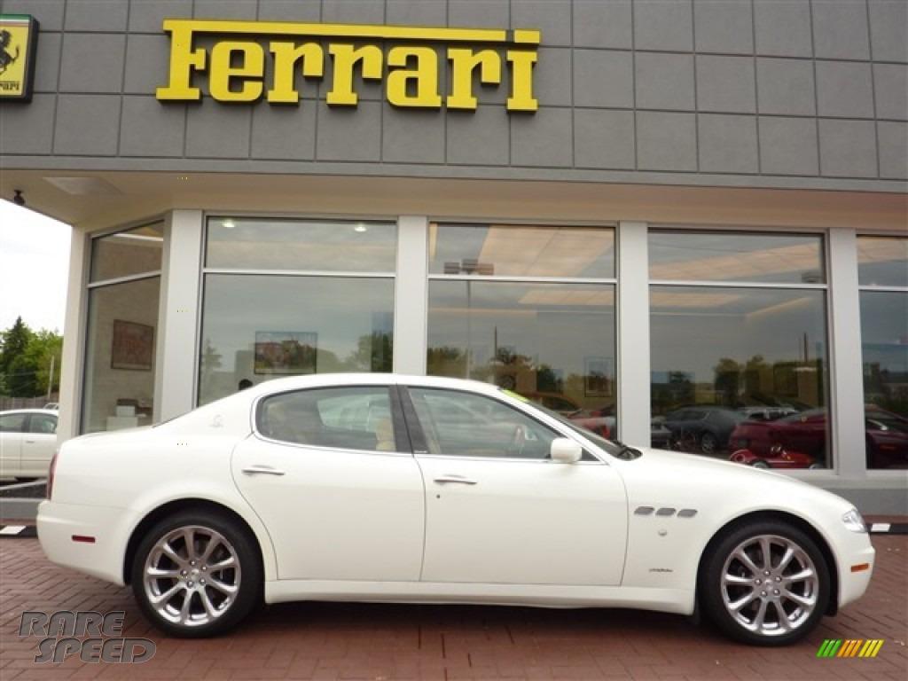 2007 Maserati Quattroporte Executive Gt In Bianco White