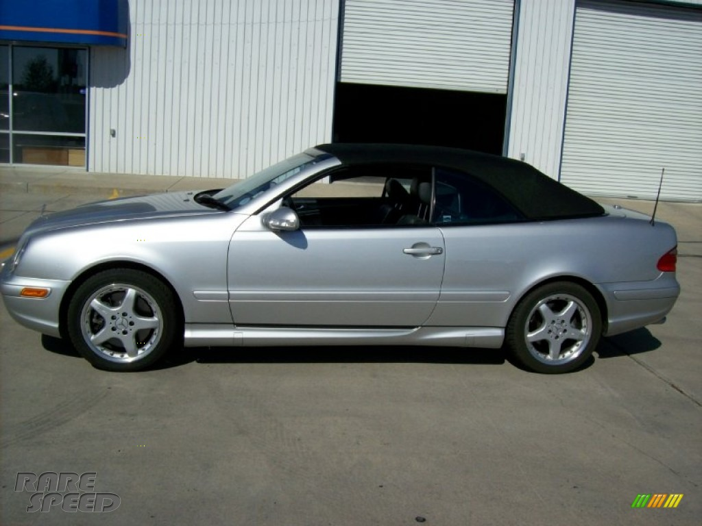2002 mercedes benz clk 55 amg cabriolet in brilliant for Mercedes benz clk 2002