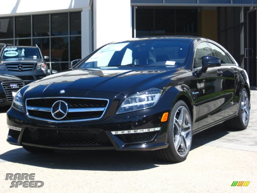 2012 mercedes benz cls 63 amg in obsidian black metallic for Simonson mercedes benz