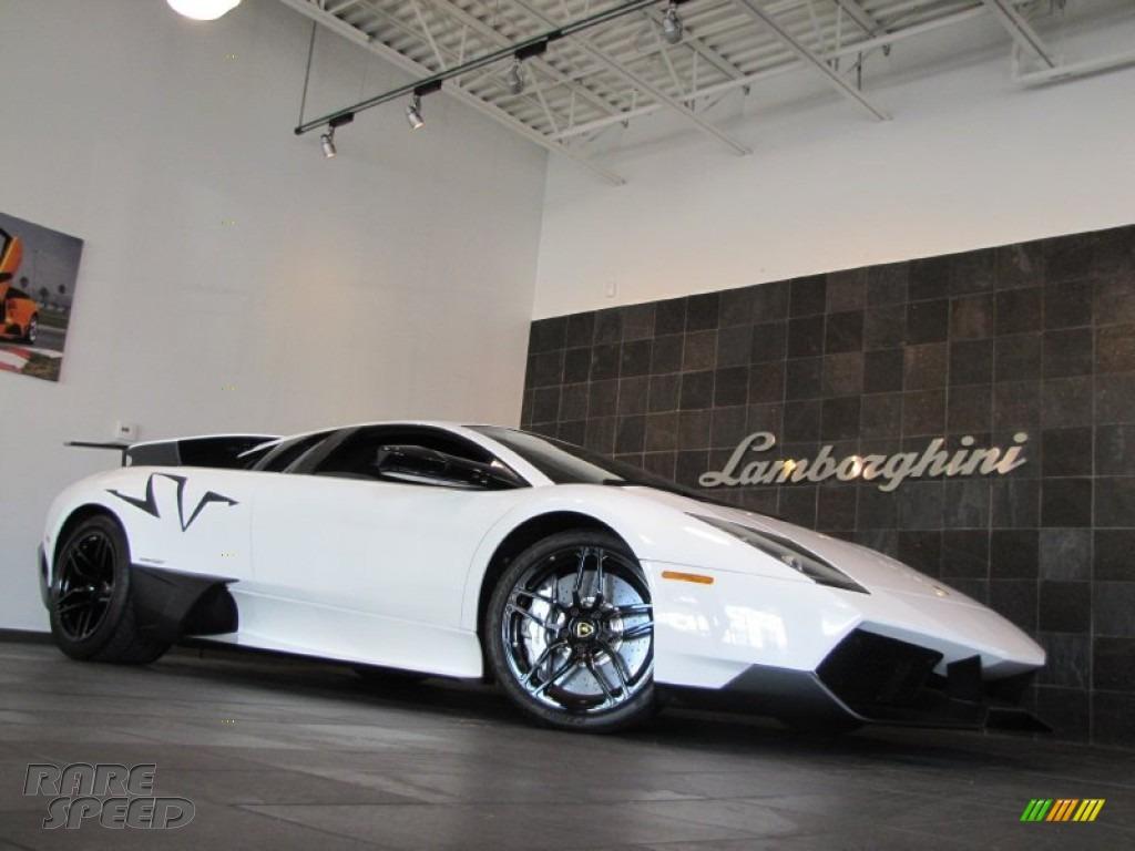 2010 Lamborghini Murcielago Lp670 4 Sv In Bianco Isis