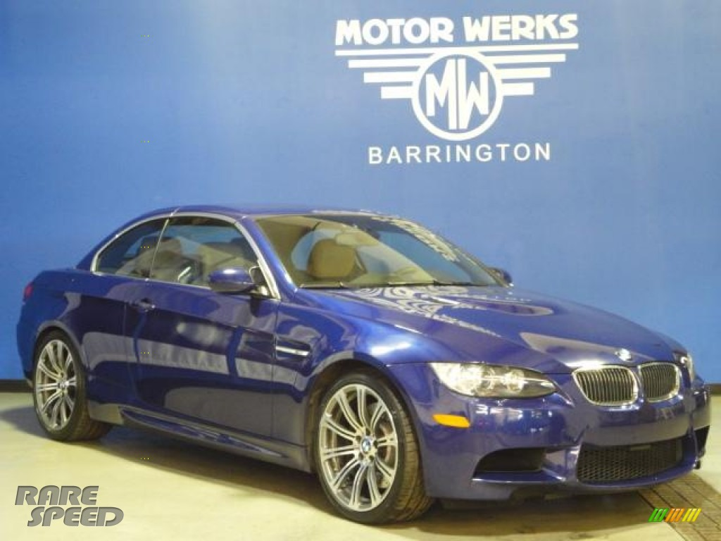2008 bmw m3 convertible in interlagos blue metallic photo for Motor werks barrington used cars